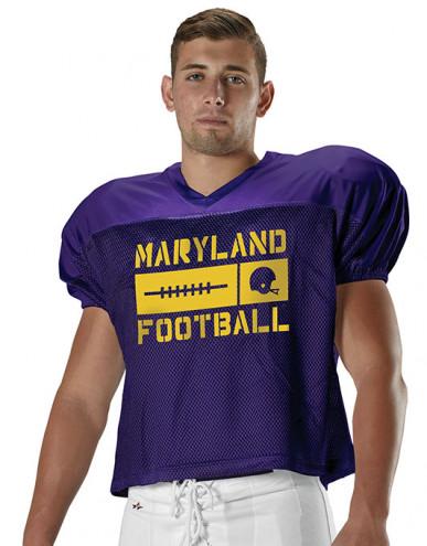 custom football practice jerseys